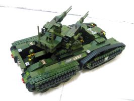 Lego Transform Tank 'Fake' 8.4 by SOS101