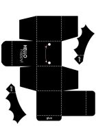 Bat Box Template by hellohappycrafts