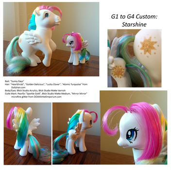G1 to G4 Starshine Custom by SynCallio