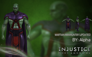 Injustice Gods Among Us: Martian Manhunter (UPDT) by XNASyndicate