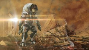 Krogan Mass Effect by DeadFL