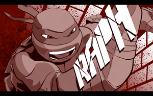 TMNT (2012): Raph Wallpaper by gameover89