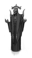 Dark Priest redesign concept art by n-pigeon