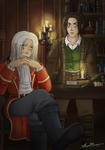 Amnesia: Alexander and Daniel by AngelQueen13