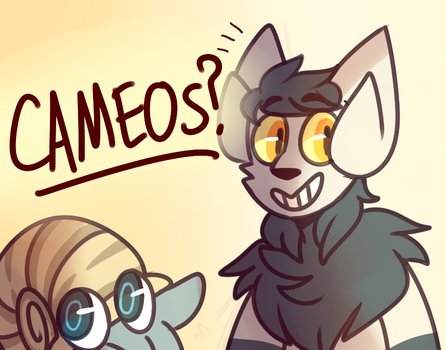 cameos ? by pigeonfluff