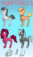 Pony Adoptables! by TSRings