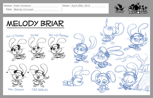 True Tail: Melody Concept 003 by SkynamicStudios
