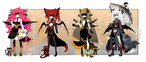 [CLOSED]AUTUMN THEME ADOPT 267- Blindlace by Piffi-adoptables