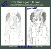 Draw This Again Meme by Erika624