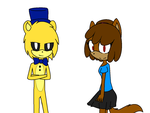 Sonic99Rae And Gold  +Speed Paint+ by lillymagic