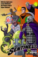 COMMISSION - The Sentinels VILLAINS Ad by DBed