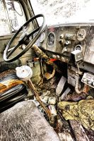 White Truck: Steering Column by basseca