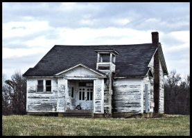 Old school house by MistressVampy