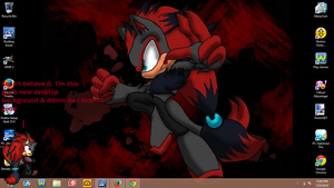My New Desktop Background by HurricaneThePegasus8