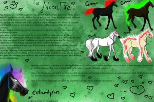NeonFire breed sheet by naomithewolf