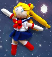 Sailor Moon plushie by dollphinwing