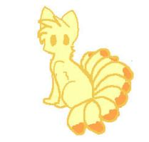 nine tails chibi thing by s-t-e-f-f