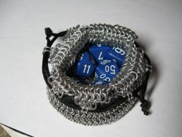 Chainmaille Pouch by TheyCallMeMewt