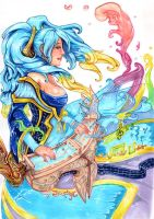 Sona, Maven of the Strings by Anixien