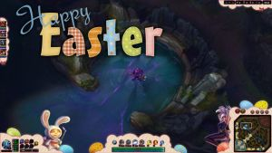League of Legends Easter Overlay by ToranasOverlays