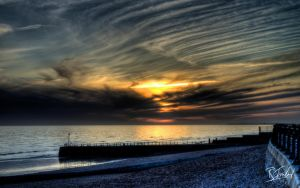 Spring Sunset in Hove 3 by richardsim7