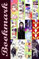 BOOK-MARK COLLECTION by Alzheimer13