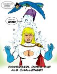 Powergirl does the ALS Challenge by dannphillips