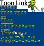 Toon Link Sheet- UPDATED by Damian2841