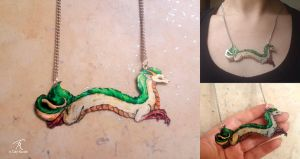 Haku Necklace by TrollGirl