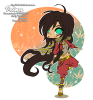 AC - Commission - Irina Chibi by RedViolett