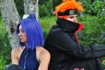 Akatsuki Photoshoot: Pein and Konan II by KaizenCosplay