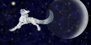 Running though the Galaxies by WolfStarr7