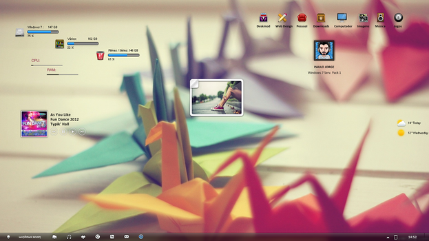 Origami Desktop by Paulo1471