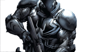 Agent Venom render by Superchris12