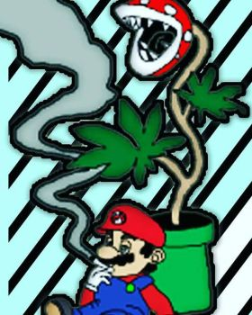 Super Mario was Smoking by WillieD891