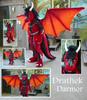 Drathek Dragon by LilleahWest