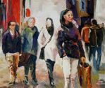 Urban People No. II by Art-deWhill