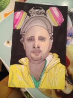 Jesse pinkman with promarkers by Jylm75