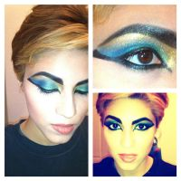 Cleopatra/ Egyptian Inspired Eyes 2 by KLRainbow