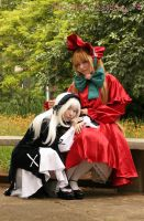 Rozen Maiden Dolls by plu-moon