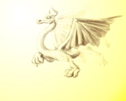 Dragon by theCheeseGrater