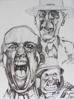 Full Metal Jacket Sketch by GerardoGomez