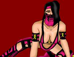 Mileena Sexy Pose by Lionofdemise