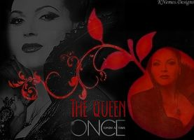The Queen - Once Upon A Time by DarlingDisneyphile