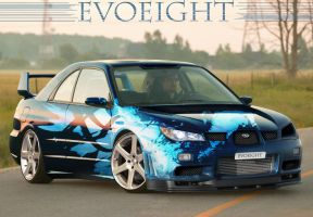Subaru Impreza Revisited by evoeight