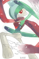 Gallade by Kaya--chan