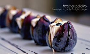 Fresh Figs | Goats Milk Brie and Balsamic by hpdphotos
