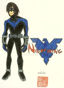 Nightwing TT My Version by HeartlessHunter13