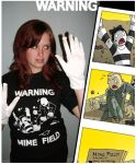 Mime Field Shirt Now In Stock by Cannibal-Cartoonist