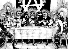 The Last Supper by skitdotterror